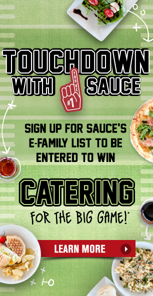 Win Catering for The Big Game!