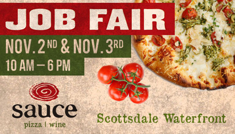 Sauce Job Fair at Scottsdale Waterfront