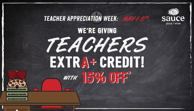 Teacher Appreciate Week: May 1-5th - We