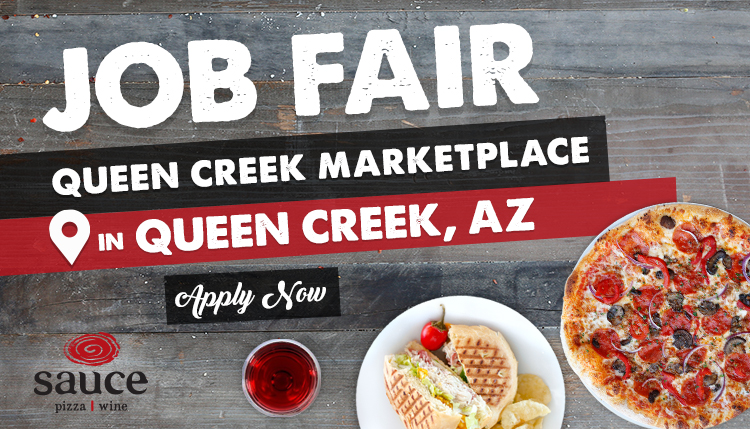 Apply Now at the Queen Creek Marketplace Job Fair - in Queen Creek, AZ
